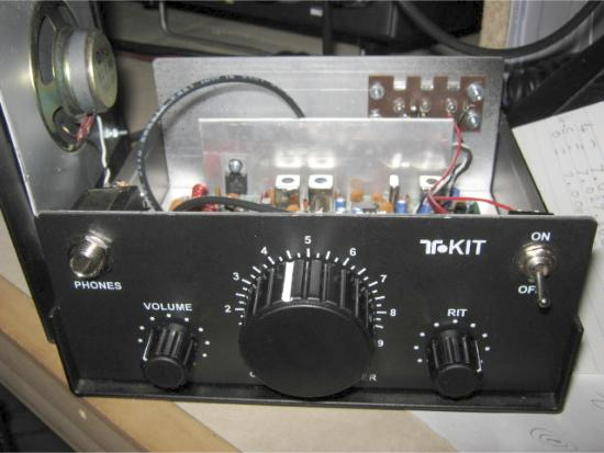 VK4RV's QRP 'Ten-Tec' CW 40m transceiver